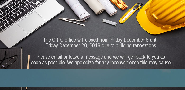CRTO Office Renovations