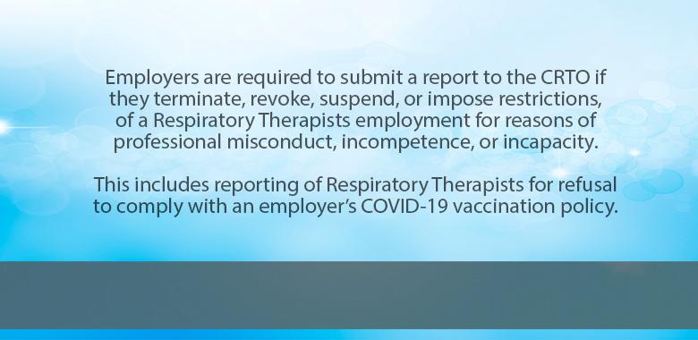 Employer Mandatory Reports